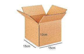 CARTON BOX 15x15x12cm 3 SHEETS